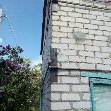 Стяжка стен дачного дома